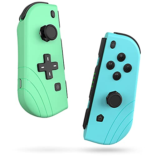 Switch Controller EZdenK Joycon Controllers(L/R) Bluetooth 5.0 Support Wake-up Function 3D Gamepad...