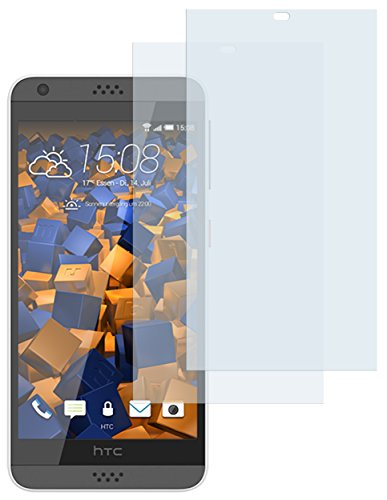 mumbi Schutzfolie kompatibel mit HTC Desire 530 Folie klar, Bildschirmschutzfolie (2X)
