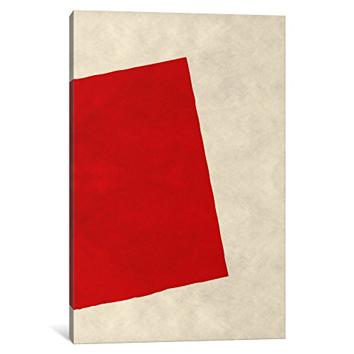 iCanvasART 1-Piece Modern Art-Red Square (After Albers) Canv...