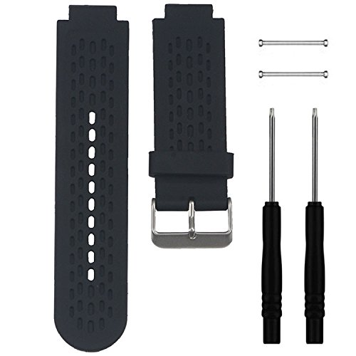 QGHXO Band for Garmin Approach S2 / S4, Soft Silicone Replacement Watch Band Strap for Garmin Approach S2 / S4 GPS Golf Watch, Fits 5.9 inches-8.26 inches Wrist