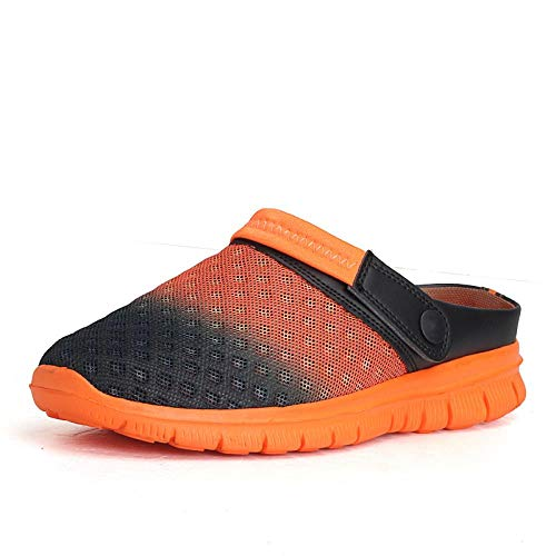 Lochschuhe Sabots Unisex Loch Schuhe Herren Herren Schuhe Crocse Sandalen Sandalias Sommerschuhe Sandalen Hausschuhe Sandalet Hombre Sandali Croc Clogs Neu 43 Gradientorange