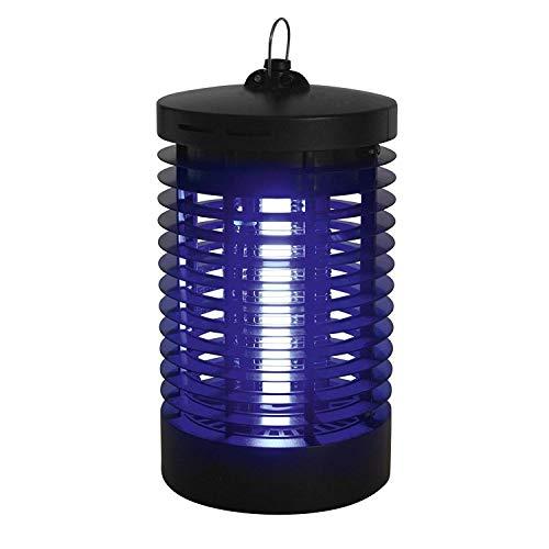 Alma Garden - 3 Unidades de matainsectos eléctrico – luz UV – 1,2 W – lámpara antimosquitos – Trampa para Insectos – 230 V de Alta tensión – Aprox. 10 x 10 x 22 cm.