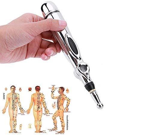 Akupunktur Stift Schmerzlinderung Akupunktur Punkt Detektor, Digital Stift Akupunktur Meridian elektrische Energie Massager Schmerzlinderung
