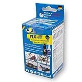 Adesivo Industriale ATG Fix-IT, Adesivo istantaneo, Universale, con granuli Neri