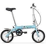FANG Adultos Bicicleta Plegable, Unisex Estudiante 14