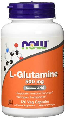 Now Foods L-Glutamine 500mg Standard, 120 Kapseln