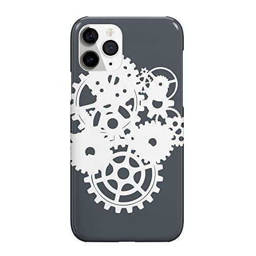 Steampunk Wheels Spinning tel_MRZ2639 - Funda protectora de plástico duro para teléfono móvil para Samsung Galaxy S9 Plus