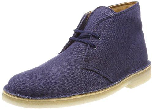 Clarks ORIGINALS Desert Boot, Polacchine Uomo, Blu (Navy Fabric), 42.5 EU