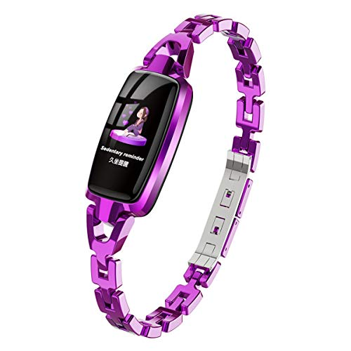 Smartwatch Dames, waterdichte horloges met touchscreen, touchscreen, zinklegering, hartslagmonitor, fitnesstracker, horloges voor Android en iOS