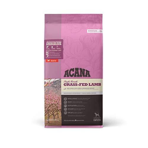 Acana Singles Grass-fed Lamb & Okanagan Apple Dog - 17 kg