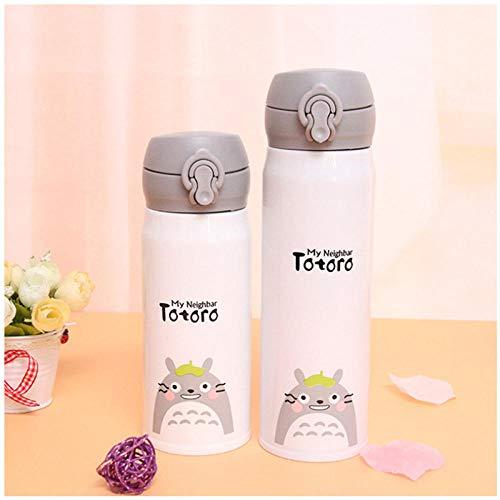Wgath 500Ml Leuke Totoro Thermos Thermosflessen Kid'S Thermos Geïsoleerde Waterfles Zoete Gift Kinderen Waterfles Geïsoleerde Mok