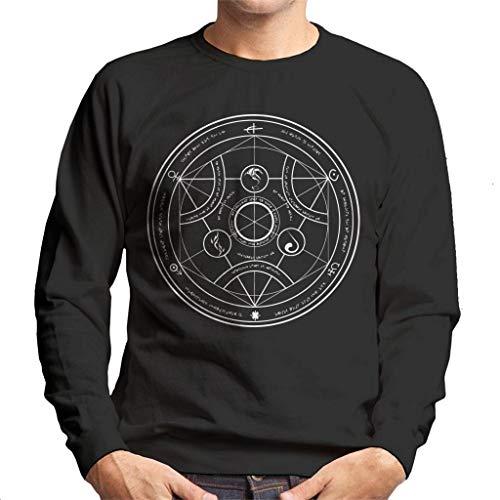 Valyrian Fire Alchemy White Game of Thrones Men's Sweatshirt