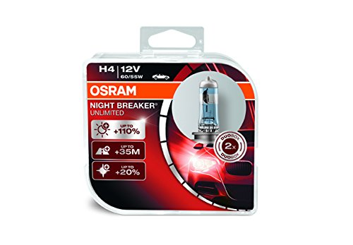 OSRAM ONBU7-DUO_PL Night Breaker Unlimited Indikator der Glühbirne Hb4