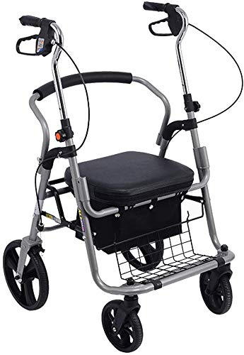 LITING Einkaufswagen Kann Einen Zusammenklappbaren Rollstuhl Mitnehmen Tragbarer Trolley Haushaltsroller Geschenk Kann 100 Kg Tragen