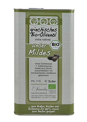 direct&friendly Bio Olivenöl Neue Ernte 2021 aus der Mani Griechenland im 3l Kanister 0,23{2e7bbb18b8f559b254bc37e61ebee5d990dec04ce3073a2e9661527cc5d094cc} Säure