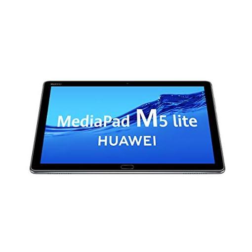 "HUAWEI MediaPad M5 Lite 10 - Tablet de 10.1"" Full HD (LTE, RAM de 3 GB, ROM de 32 GB, Android 8.0, EMUI 8.0) Color Gris 2"