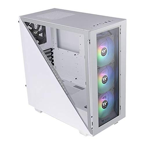 Thermaltake Divider 300 TG Snow ARGB Mid Tower - Caja de Ordenador