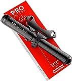 PRO BIKE TOOL Mini Bike Pump Premium Edition - Fits Presta and Schrader valves - High Pressure PSI -...