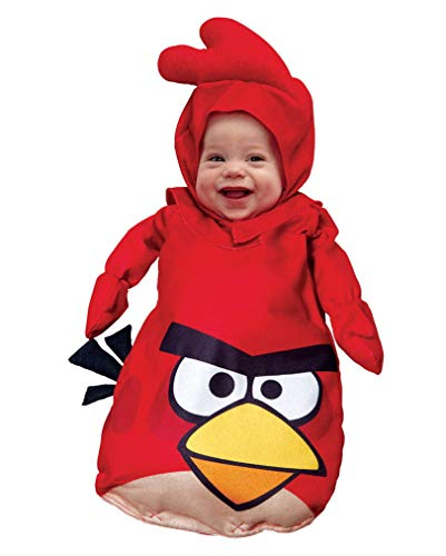 rouge costume bébé Angry Birds