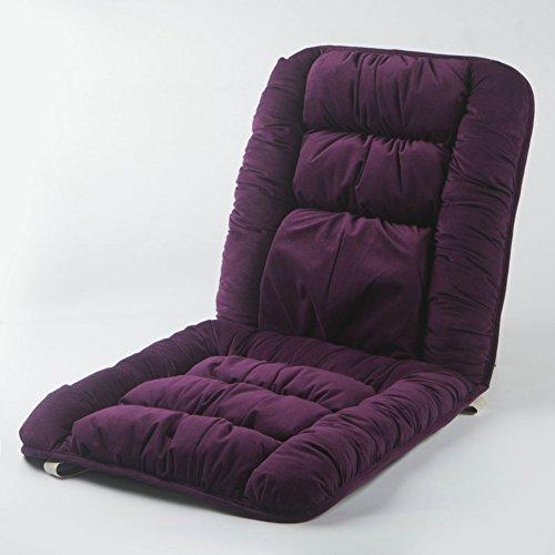 KKLTDI Baumwolle Gartenstuhlauflagen Sitzauflagen, Hochlehner Auflage Dick Drinnen Draußen Sessel Sitzkissen Für Garten Sofa Gartenstuhlauflagen Hochlehner-lila 80x40x5m