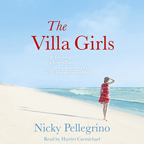 The Villa Girls audiobook cover art
