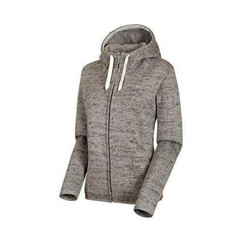 Mammut Damen Chamuera Hooded Midlayer Jacke, Granit, XL