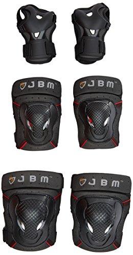 JBM-Ginocchiere da bici BMX, gomitiere Protective Gear-Set di protezioni, per ciclismo, corsa, ciclismo e Scooter ¡G Multi sport, Skateboard, bicicletta, Pattini in linea