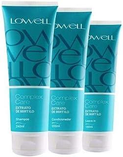 Lowell Complex Care Mirtilo - Kit 3 Produtos
