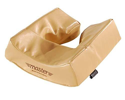 Master Massage Ergonomic Dream Kopfpolster Gesichtskissen für Massageliege Gedächtnisschaum Beige
