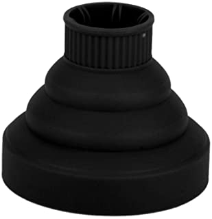 rongweiwang Silicona Plegable Universal del Ventilador Cubierta Peluquería Secador Plegable difusor de la Capilla Salón Rizado Secador de Pelo Plegable difusor de la Capilla