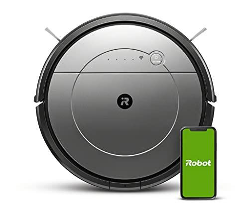 Aspirateur Robot et Laveur de sols iRobot Roomba Combo connecté Via Wi-FI avec Plusieurs Modes de Nettoyage