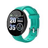 Pulsera Inteligente Salud Fitness Deportes Pulsera Inteligented18 Electron Smart Watch Hombres Mujeres Bluetooth Smart Band Tracker Smartwatch-2 Rastreador De Muñeca De Frecuencia Cardíaca De Fitne