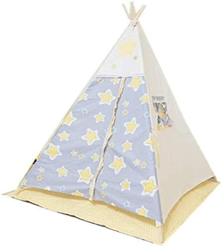 YWAWJ Pieghevole Portatile Quick Fold Assemblare Tenda Interna Tenda Tela di Cotone Outdoor Mall Gioco Principessa Game House Bambino Tenda Coperto (Size : 120 * 120 * 150CM)