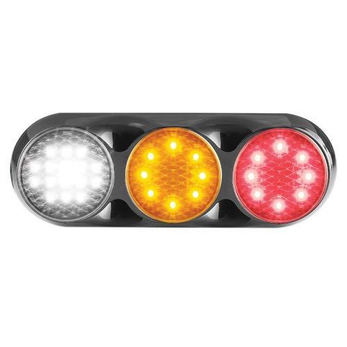 Luz trasera o trasera LED, luz de freno/luz trasera, intermitente, luz de marcha atrás, serie 82, ECE