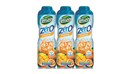 3 Tropical 0% Sirup Zucker frei - 3 x 0,6L
