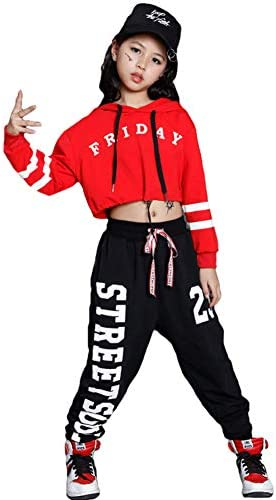 Hip hop costume for girl _image3