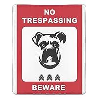 ゲーミングマウスパット キャラクター 犬注意