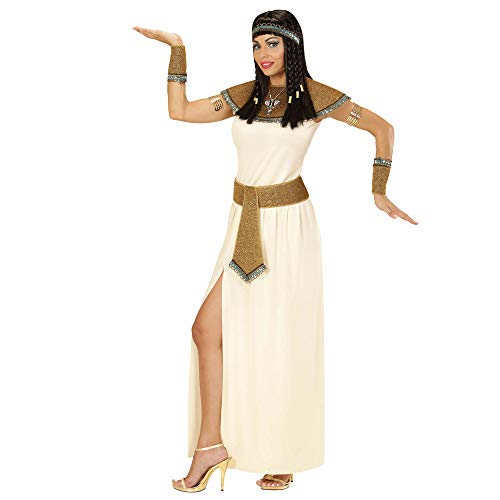 WIDMANN WDM67703 kostuum voor volwassenen Cleopatra, wit, L