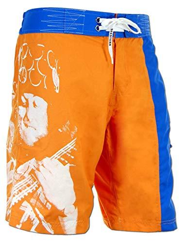 SEESTERN Noddy Holder Memorial Boardshorts Voice of Slade Feel The Noize XXS-3XL /1547 Noddy Holder_Orange 2XL