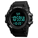 COOKI Men's Watches Digital Sports Watches Waterproof Wrist Watch Casual Watch Outdoor Military Sport LED Watches for Men