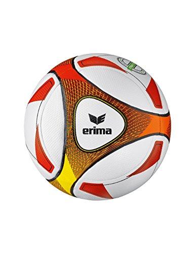 Erima Hybrid Futsal JNR 350 Fussball, rot/Orange, 4