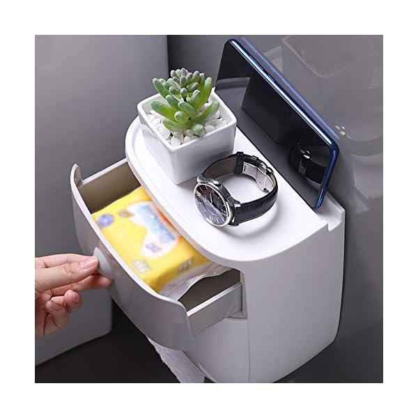Blusea ecoco – Dispensador de papel higiénico para montar en la