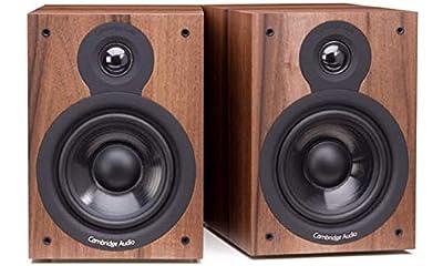 Cambridge Audio SX-50 Bookshelf Speakers per pair (Walnut) by Cambridge Audio