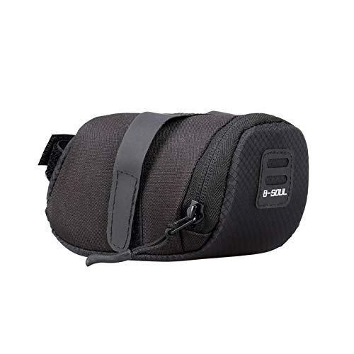 Irfora Bike Saddle Bag, Bike Saddle Bag Waterproof Lightweight Under Seat Bike Bag Large Capacity Bicycle Seat Pack Bag for Road Bikes Mountain Bicycles