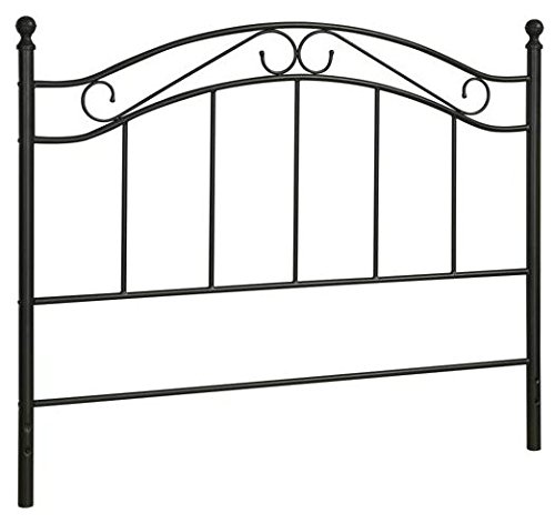 Mainstay Bed Headboard- Fits Full or Queen Bed Frames, (Full/Queen, Black)