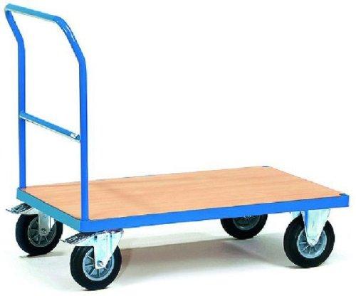 fetra Schiebebügelwagen blau 85x50cm bis 200kg 987x511x1033mm