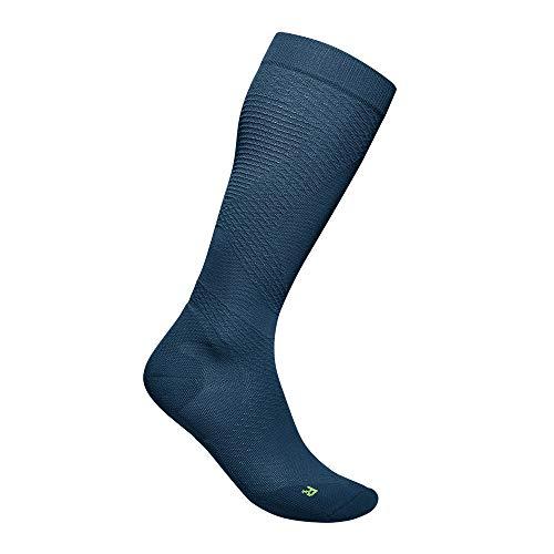 BAUERFEIND Mens Run Ultralight Compression Socks Navy blue M 41 43