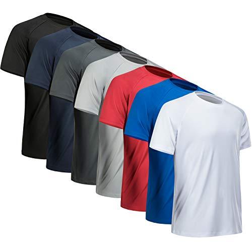 MCPORO Workout Shirts for Men Short…