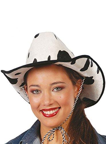Guirca Fiestas GUI13566 - Samt Cowboyhut