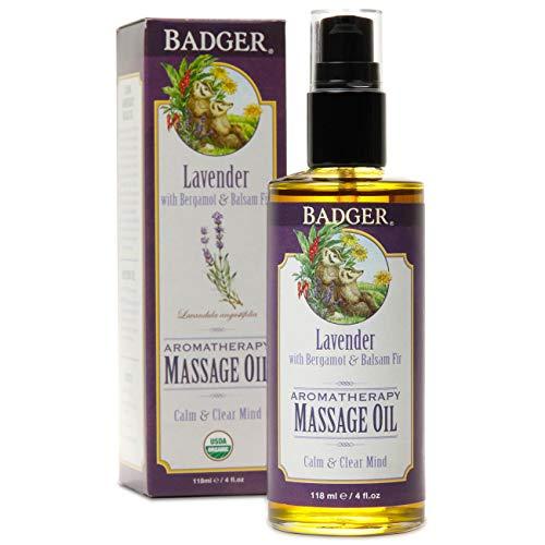 Badger Aromatherapy Oil, Lavender with Bergamot & Balsam Fir, 4 oz